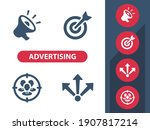 advertising icons. professional ...   Shutterstock .eps vector #1907817214