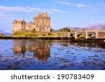 famous eilean donan castle in...
