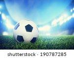 Постер, плакат: Football soccer match A