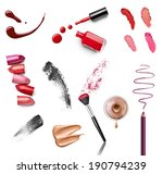 collection of various make up... | Shutterstock . vector #190794239
