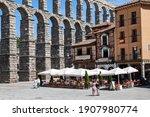 Segovia  Spain. July  2020. The ...