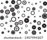 gears icon vector set  cogwheel ...   Shutterstock .eps vector #1907994307