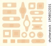 medical plaster. medical...   Shutterstock .eps vector #1908012031