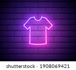 t shirt blue glowing neon ui ux ...
