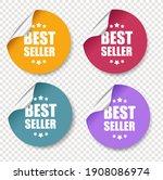 big set label and transparent...   Shutterstock .eps vector #1908086974