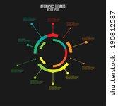 modern infographics template | Shutterstock .eps vector #190812587