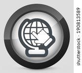 globe icon | Shutterstock .eps vector #190813589