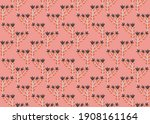 mexican flowers simple and cute ... | Shutterstock .eps vector #1908161164
