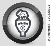 parking meter | Shutterstock .eps vector #190820321