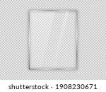 glass plate in vertical frame... | Shutterstock .eps vector #1908230671