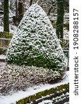 A Vertical Shot Of A Snow...
