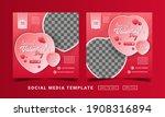 flyer or social media post... | Shutterstock .eps vector #1908316894