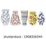 A Set Of Vases For Flowers...