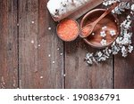 aromatherapy spa set  spa... | Shutterstock . vector #190836791
