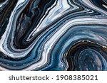 fluid art texture. abstract... | Shutterstock . vector #1908385021