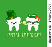 St Patrick Day Teeth In...
