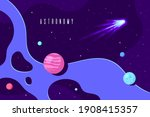 outer space  science  astronomy ...   Shutterstock .eps vector #1908415357