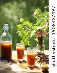 Russian Kvass Made From Rye...
