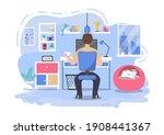 vector illustration people... | Shutterstock .eps vector #1908441367
