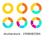 cycle diagram with arrows set.... | Shutterstock .eps vector #1908482584