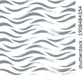 seamless wave pattern  animal...   Shutterstock .eps vector #1908484354