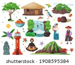 welcome to jeju island  south... | Shutterstock .eps vector #1908595384