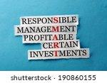 smart  acronym in business... | Shutterstock . vector #190860155