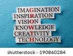 growth acronym | Shutterstock . vector #190860284