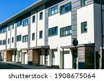Modern New Terraced Houses And...
