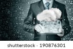 cloud computing  technology... | Shutterstock . vector #190876301