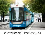 A Hydrogen Fuel Cell Tram...