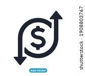 finance management linear icons.... | Shutterstock .eps vector #1908803767