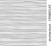 hand drawn lines. seamless... | Shutterstock .eps vector #190885145