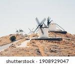 Old Windmills In Consuegra ...