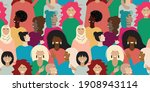 colourful seamless pattern with ... | Shutterstock .eps vector #1908943114