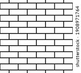 seamless brickwall pattern....   Shutterstock .eps vector #1908971764