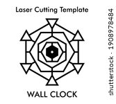 laser cutting file of... | Shutterstock .eps vector #1908978484