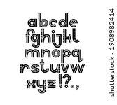 scandinavan style artisic abc....   Shutterstock .eps vector #1908982414