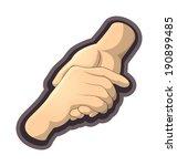 help | Shutterstock .eps vector #190899485