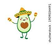 cute happy cartoon style...   Shutterstock .eps vector #1909034491