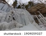 Frozen Waterfalls In Hamilton...