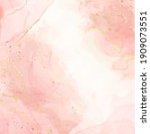 abstract pink liquid watercolor ...   Shutterstock .eps vector #1909073551