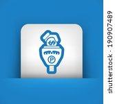 parking meter | Shutterstock .eps vector #190907489