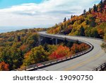 Linn Cove Viaduct On Blue Ridg...