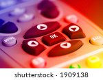 tv remote control close up | Shutterstock . vector #1909138