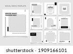 social media template banner...   Shutterstock .eps vector #1909166101