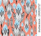 graphic seamless pattern with... | Shutterstock .eps vector #190922717