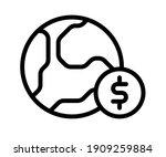 global economic capital single... | Shutterstock .eps vector #1909259884