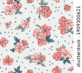 Pattern Background With Pink...