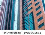 facade of modern office... | Shutterstock . vector #1909301581
